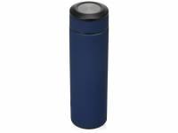 Термос «Confident» с покрытием soft-touch 420мл, темно-синий