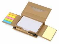 """Канцелярский набор для записей """"Stick box"""", натуральный"""