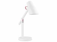 Настольная лампа c беспроводной зарядкой «LED L1», 250Лм, 4.5 Вт, Qi, диммер, таймер, бел