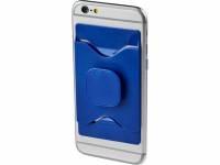 Держатель для мобильного телефона Purse с бумажником, ярко-синий