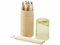 Набор карандашей 12 единиц, натуральный/желтый