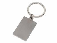 """Брелок """"Steel RCT"""" прямоугольный, серебристый"""