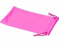 Чехол из микрофибры Clean для солнцезащитных очков, неоново-розовый