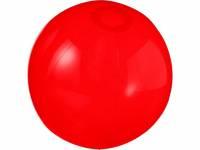 Мяч пляжный «Ibiza», красный прозрачный
