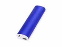 """Портативное зарядное устройство """"Спайк"""", 8000 mAh, синий"""