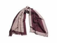 Длинный шарф Bird Bordeaux
