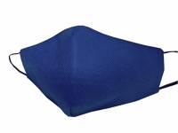 Маска для лица многоразовая из спанбонда, темно-синий