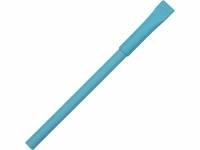 """Ручка картонная с колпачком """"Recycled"""", голубой"""