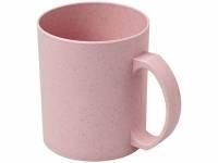 Чашка из пшеничной соломы Pecos 350мл, розовый