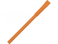 """Ручка картонная с колпачком """"Recycled"""", оранжевый"""