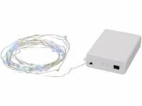 Гирлянда Pulse со звуковой активацией и 50светодиодами, белый