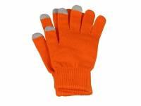 """Перчатки для сенсорного экрана """"Сет"""", S/M, оранжевый"""