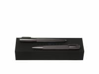 Подарочный набор: ручка шариковая, ручка-роллер. Hugo Boss, графит