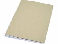 Блокнот Gianna из переработанного картона, натуральный