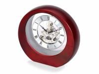 Часы настольные «Эдервилль», коричневый/серебристый