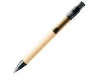 Шариковая ручка Safi из бумаги вторичной переработки, черный