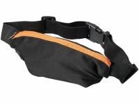 Эластичная спортивная поясная сумка Nicolas, оранжевый