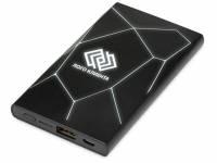 """Портативное беспроводное зарядное устройство """"Geo Wireless"""", 5000 mAh, черный"""
