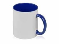 Кружка для сублимации «Sublime Color», белый/синий