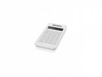 """Калькулятор на солнечной батарее """"Summa"""", белый"""
