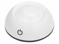 """Мини-светильник с сенсорным управлением """"Orbit"""", белый/черный"""