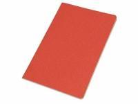 Блокнот А5 «Snow» из переработанного картона, красный