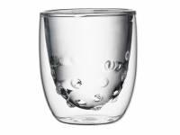 Стаканы Elements Water 2 шт. 75 мл., прозрачный