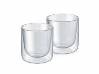 Набор стаканов из двойного стекла тм ALFI 200ml, в наборе 2 шт.