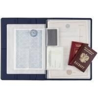 Папка для хранения документов Devon Maxi, синяя