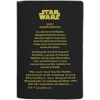 Обложка для паспорта Star Wars Title, черная