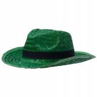 Шляпа Daydream, зеленая с черной лентой