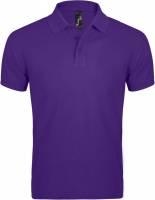 Рубашка поло мужская Prime Men 200 темно-фиолетовая