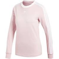 Футболка женская с длинным рукавом 3 Stripes LS, розовая