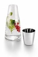 Графин со стаканом H2O