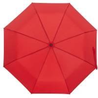 Зонт складной Monsoon, красный