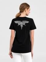 Футболка женская Maleficent Fairy, черная