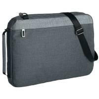 Конференц-сумка 2 в 1 twoFold, темно-серая