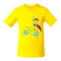 Футболка детская Roller Skates, желтая