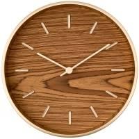 Часы настенные Peri, дуб