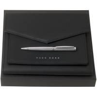 Набор Sophisticated: папка и ручка, черный