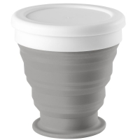Складной стакан Astrada, серый
