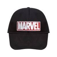 Бейсболка с вышивкой Marvel, черная