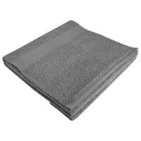 Полотенце махровое Soft Me Large, серое