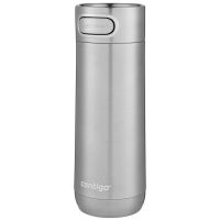 Термостакан Luxe XL, вакуумный, герметичный, стальной