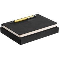 Набор Magnet с ежедневником, черный с желтым