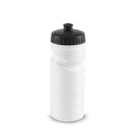 Бутылка для велосипеда Lowry, белая с черным