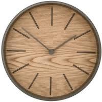 Часы настенные Paco, дуб