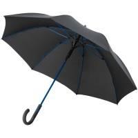 Зонт-трость с цветными спицами Color Style ver.2, ярко-синий