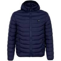 Куртка с подогревом Thermalli Chamonix, темно-синяя