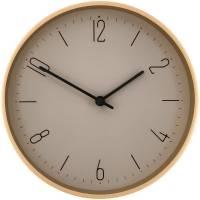 Часы настенные Jewel, серо-бежевые